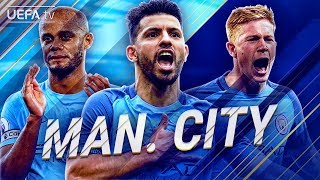 Manchester City | GREATEST European Moments | Aguero, De Bruyne, Kompany, Silva| BackTrack