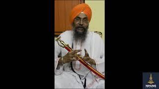 Introduction to Nihung Santhia - Singh Sahib Giani Amarjeet Singh Ji Sachkhand Sri Hazur Sahib