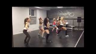 ICE CREAM CREW in da Fraules Dance Centre. Booty dance class!