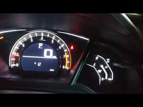 2016 Honda civic maintenance light reset