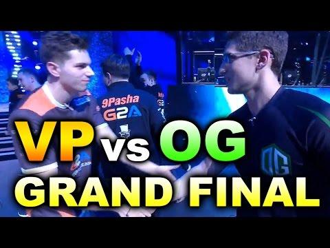 VP vs OG - GRAND FINAL - KIEV MAJOR DOTA 2