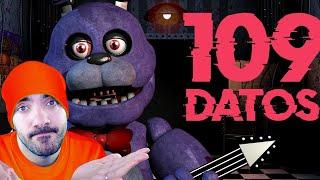 REACCIONANDO A 109 Datos que DEBES saber de Five Nights At Freddy's (FNAF)