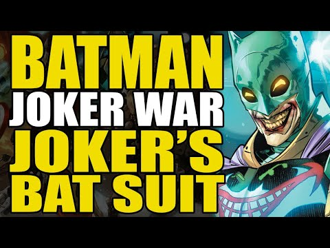 The Joker's Bat Suit: Batman Joker War Part 5 | Comics Explained