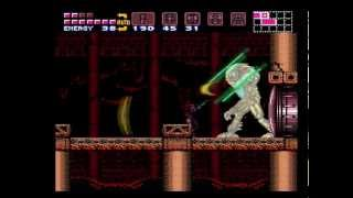 Super Metroid (SNES) - Full Game (100% run with best ending)