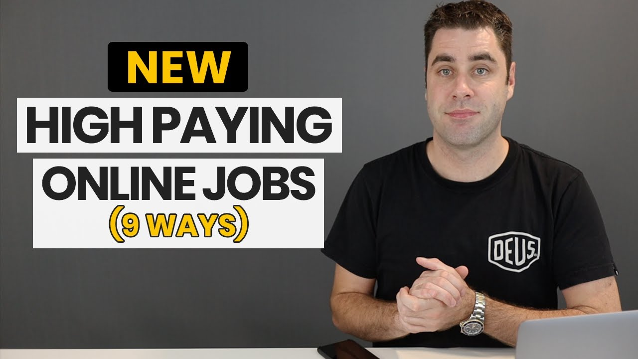 9 High Paying Online Jobs That No One Talks About Best Work From