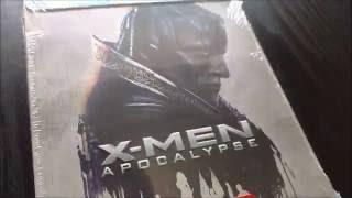 Quick Unboxing - X-Men: Apocalypse - Best Buy Steelbook (Blu-ray + DVD)(, 2016-10-03T18:22:52.000Z)