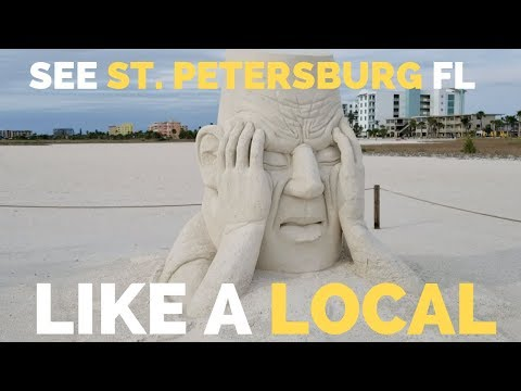 Visit St. Petersburg Florida Like a Local 🌴 | Farmers Market | RV Travel