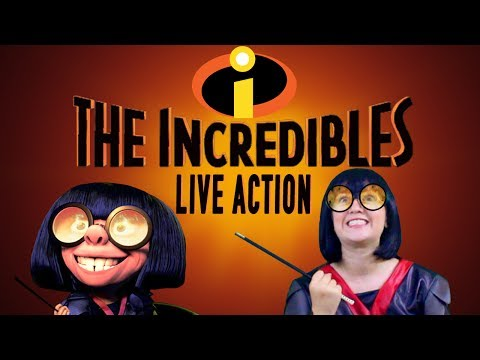 The Incredibles EDNA MODE Live Action Disney Pixar - Madi2theMax