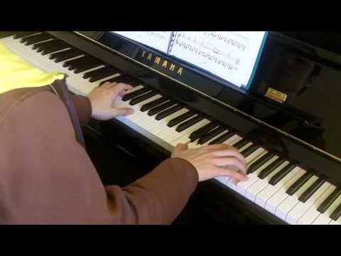ABRSM Piano 2013-2014 Grade 8 C:4 C4 Arvo Part Allegro Sonatina Op.1 No.1 Movement 1 Performance