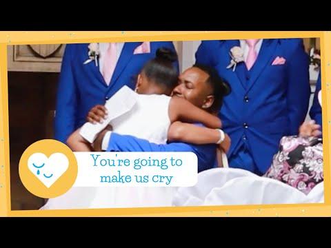 Man Surprises Stepchildren With Adoption Request At Wedding