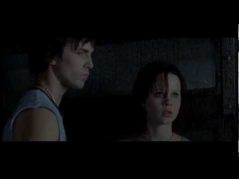 Thora Birch and Desmond Harrington. Passionate scene. The Hole - 2001.