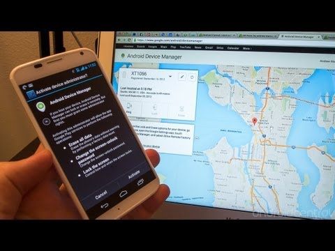 Use Android Device Manager to remotely lock and wipe your Android
