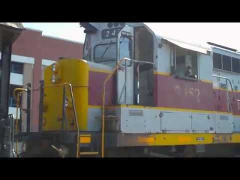 The sounds of an Alco 251 prime mover
