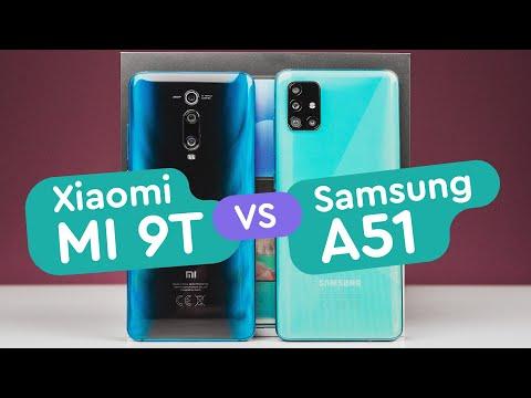 Samsung Galaxy A51 Vs Xiaomi MI 9T (Redmi K20) обзор и сравнение, тест камер, автономность, игры