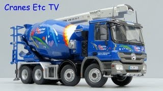 Repeat youtube video NZG Liebherr HTM 804 Mixer + Conveyor 'Meichle + Mohr' by Cranes Etc TV
