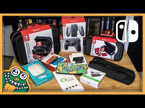 11 Nintendo Switch Accessories - Part 1 - List and Review