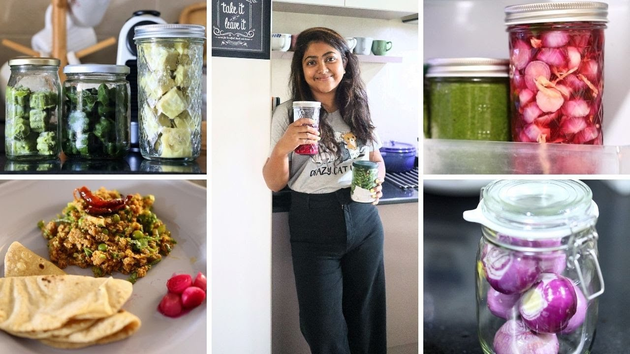15 Useful TIPS & TRICKS for the kitchen | Indian meal prep & plan