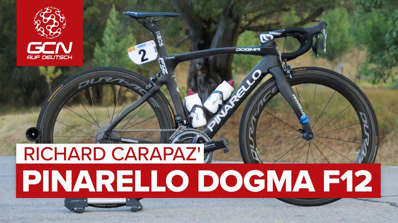 Richard Carapaz' Pinarello Dogma F12 | Team Ineos