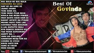 Top 21 - Best of Govinda Dance Songs  Jukebox  Superhit Bollywood Hindi Songs   Best Of Govinda Song