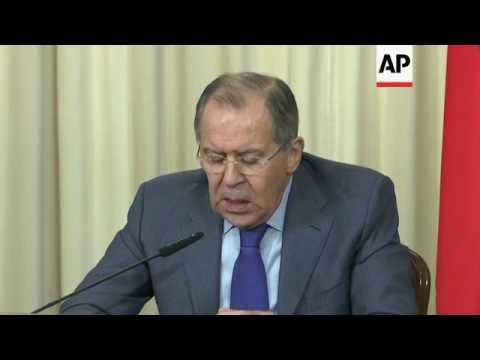 Lavrov on Ukraine and Syria