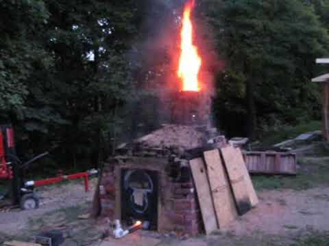 My First Backyard Brick And Pottery Kilns Youtube