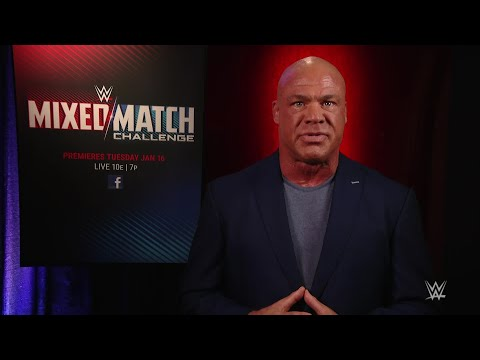 Kurt Angle reveals Raw's Superstars for the Mixed Match Challenge, beginning Jan. 16