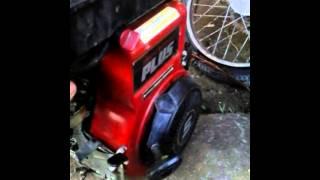 Demarrage d'un moteur briggs et stratton 5CV