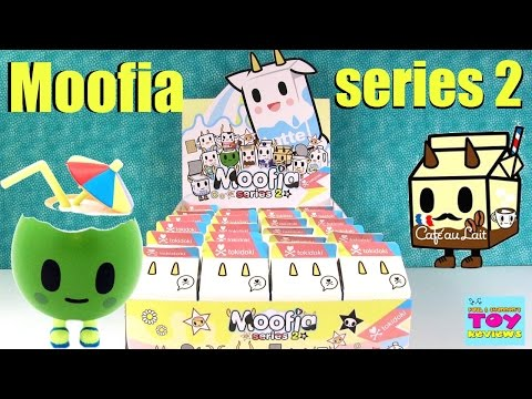 Paul vs Shannon | Moofia Series 2 Tokidoki Edition Unboxing Toy Review | PSToyReviews