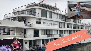 Family Fun Trip At Largest Cruises Ha Long Viet Nam   Du Thuyền Đẹp Nhất Vịnh Hạ Long   HT BabyTV ✔︎