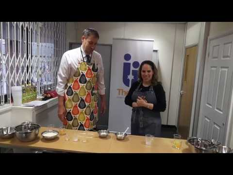 Chanukah Doughnut Making
