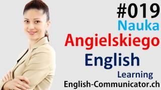 #19 Kurs języka angielskiego Słownictwo English Bydgoszcz Końskie Ostrów Mazowiecka Swarzędz YLE