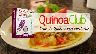 Crep de quinua con verduras