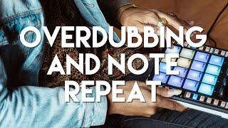 PreSonus ATOM Pad Controller: Overdubbing and Note Repeat