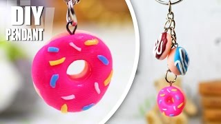 DIY PENDANT EASY DONUT JEWELRY NECKLACE CHARM