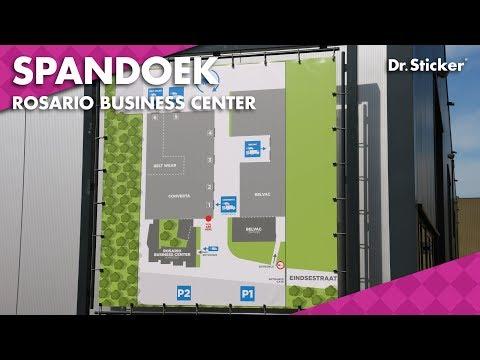 Frame met Spandoek Plaatsen voor Rosario Business Center