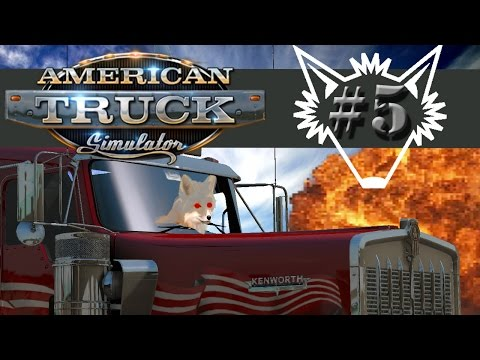 American Truck Simulator | Part 5 | Rest Stops, Back Roads, Fragile Cargo - Gameplay Let's Play