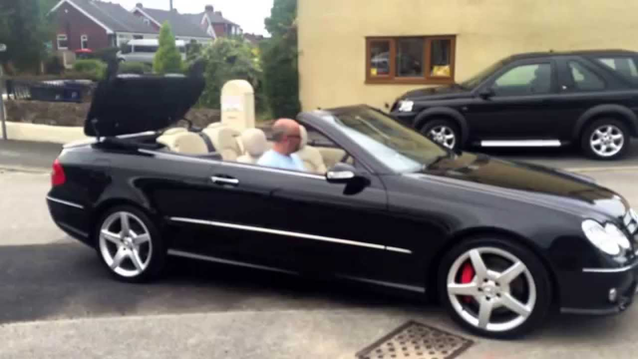 mercedes clk 350 convertible with massive spec very low mileage and full service history in. Black Bedroom Furniture Sets. Home Design Ideas
