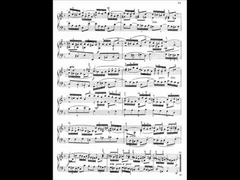 A  Schiff plays Bach three part inventions   No 4 in D minor BWV 790