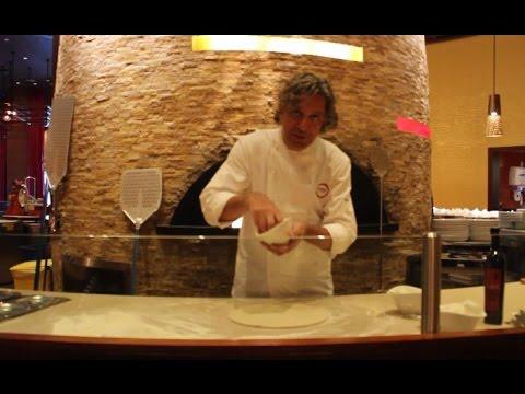 Pizza making with Giorgio Locatelli