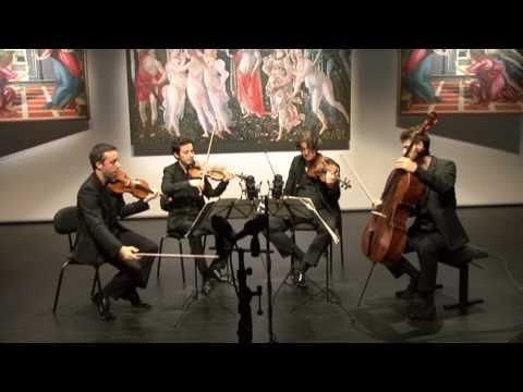Quatuor Ebène : Ludwig van Beethoven  String quartet Nr. 15 a-minor Op. 132