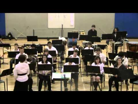 Agnes Stewart Middle School 8th gr band - June '12(1/4)