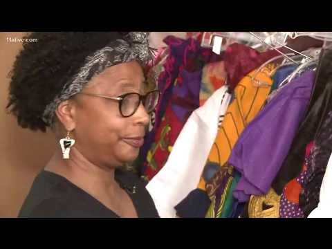 Black Panther movie causing a boom for small African clothing stores