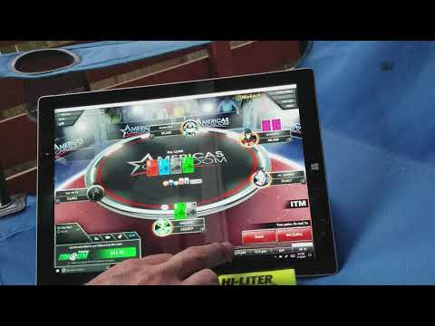 America's card room ko tournament final table