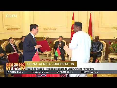 Burkina Faso's president looks to enhance ties with China thumbnail