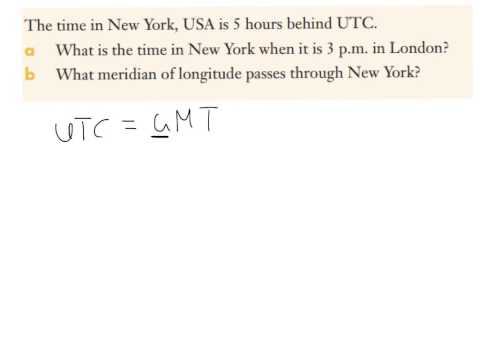 Introduction to UTC and GMT