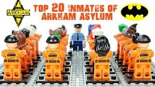 LEGO® Batman: Top 20 Arkham Asylum Inmates DC Comics Super-villains