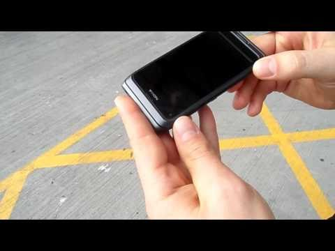 HD: Nokia E7 Clear Black Display outdoor sunlight visibility test