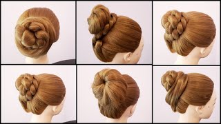 6 Easy Juda Hairstyles For Everyday || Cute Hairstyles || Hairstyles For Girls || Hairstyles