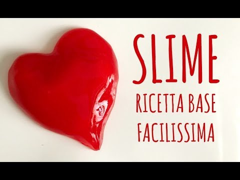 Download SLIME ricetta BASE , facilissimo e riesce sempre! Arte per Te