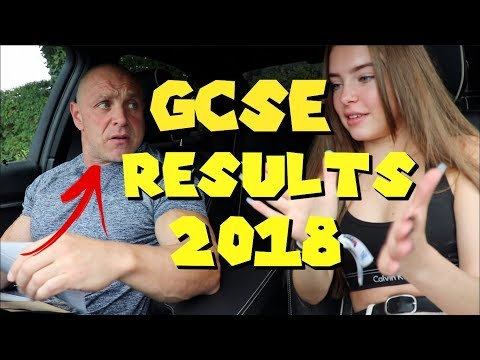 DAD OPENS MY GCSE RESULTS 2018